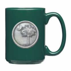 South Carolina Palmetto Green Coffee Cup