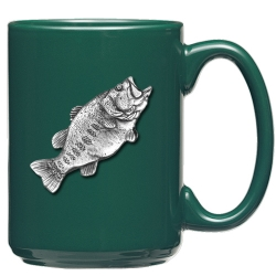 Bass Green Coffee Cup