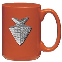 Arrowhead Orange Coffee Cup