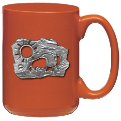 Buffalo Sun Orange Coffee Cup