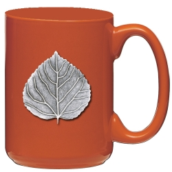 Aspen Orange Coffee Cup