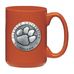 Clemson University Orange Coffee Cup