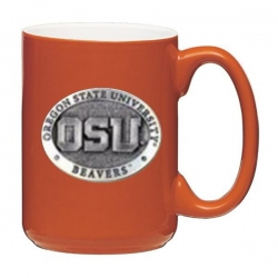 Oregon State University Orange Coffee Cup