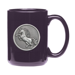 Unicorn Purple Coffee Cup