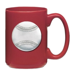 Baseball Red Coffee Cup