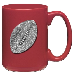 Football Red Coffee Cup