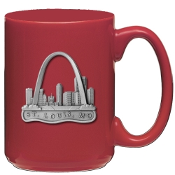 St Louis Red Coffee Cup