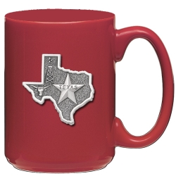 Texas Red Coffee Cup