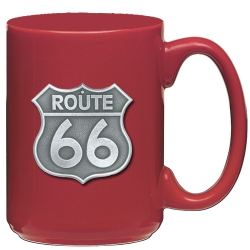 Route 66 Red Coffee Cup