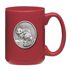 Chipmunk Red Coffee Cup