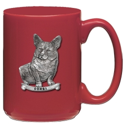 Corgi Red Coffee Cup