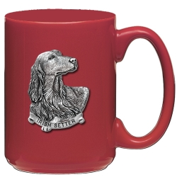 Irish Setter Red Coffee Cup