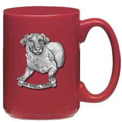 Jack Russell Terrier Red Coffee Cup