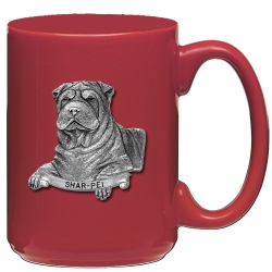 Shar-Pei Red Coffee Cup
