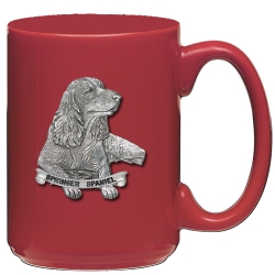 Springer Spaniel Red Coffee Cup