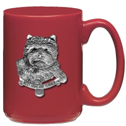 West Highland Terrier Red Coffee Cup