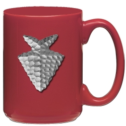 Arrowhead Red Coffee Cup