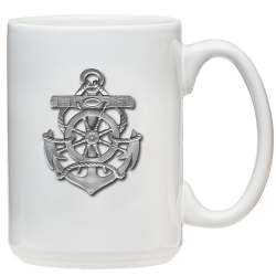 Anchor White Coffee Cup