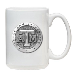 Texas A&M University White Coffee Cup