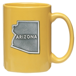 Arizona Yellow Coffee Cup