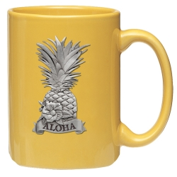 Hawaii Yellow Coffee Cup
