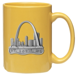 St Louis Yellow Coffee Cup