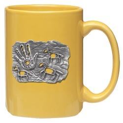 Spirit Pony Yellow Coffee Cup