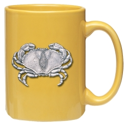 Sand Crab Yellow Coffee Cup