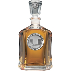 University of Miami Capitol Decanter