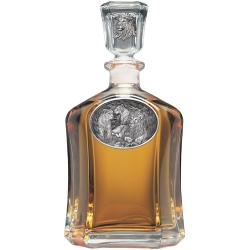 Lion Capitol Decanter