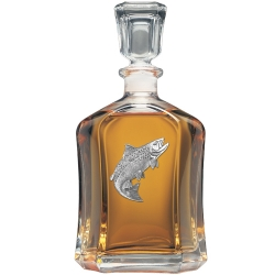 Salmon Capitol Decanter