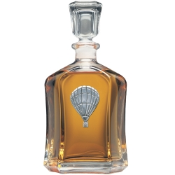 Hot Air Balloon Capitol Decanter