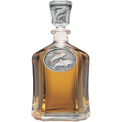 Dolphin Capitol Decanter