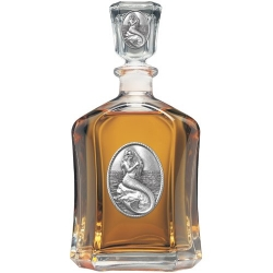 Mermaid Capitol Decanter