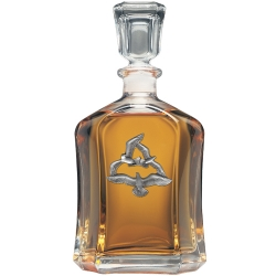 Sea Gulls Capitol Decanter