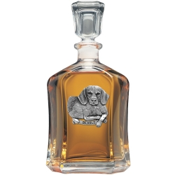 Beagle Capitol Decanter