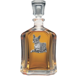 Boston Terrier Capitol Decanter