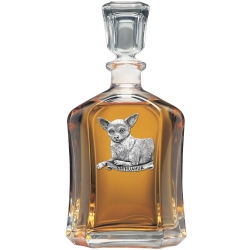 Chihuahua Capitol Decanter