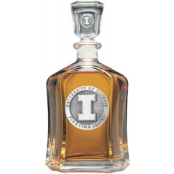 University of Illinois Capitol Decanter