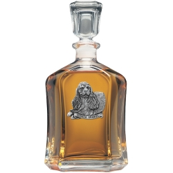 Cocker Spaniel Capitol Decanter