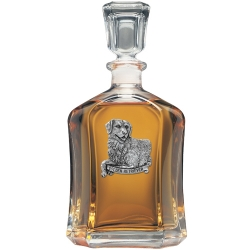 Golden Retriever Capitol Decanter