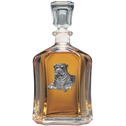 Shar-Pei Capitol Decanter