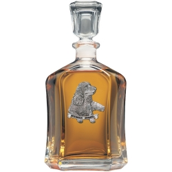 Springer Spaniel Capitol Decanter