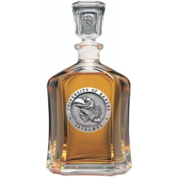 University of Kansas Capitol Decanter