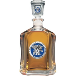 "University of Kentucky ""Wildcats"" Capitol Decanter - Enameled"