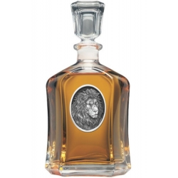 Lion Capitol Decanter #2