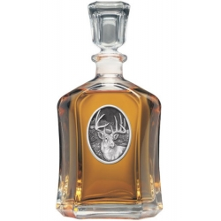 Whitetail Deer Capitol Decanter