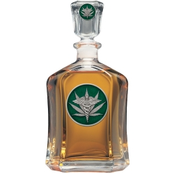 Marijuana #2 Capitol Decanter - Enameled