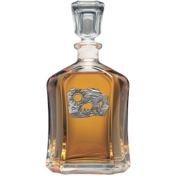 Buffalo Sun Capitol Decanter
