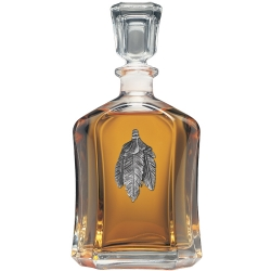 Feathers Capitol Decanter